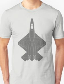 Northrop YF-23 Black Widow II T-Shirt