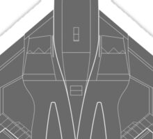 Northrop YF-23 Black Widow II Sticker