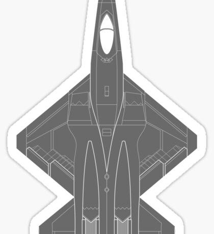 Northrop YF-23 Black Widow II Sticker