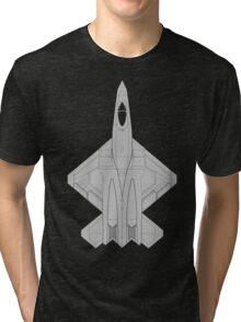 Northrop YF-23 Black Widow II Tri-blend T-Shirt
