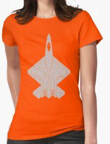 Northrop YF-23 Black Widow II Womens Fitted T-Shirt
