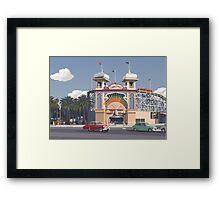 Luna Park - Melbourne Framed Print