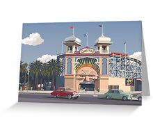 Luna Park - Melbourne Greeting Card