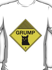 Grumpy Cat Warning T-Shirt