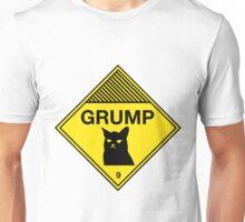 Grumpy Cat Warning Unisex T-Shirt
