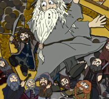 The Hobbit Illustration Sticker