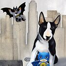 Gotham city dog by Chehade
