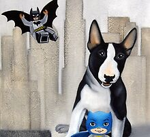 Gotham city dog by Chehade
