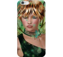 Green Fae iPhone Case/Skin