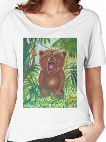 Roaring Teddy Women's Relaxed Fit T-Shirt