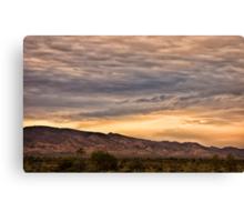 Flinders sunset Canvas Print