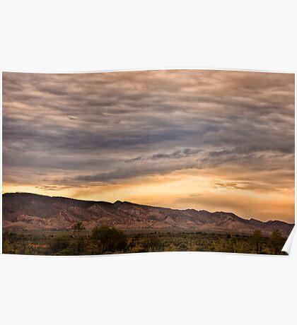 Flinders sunset Poster