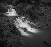 Cascade BnW by Rahul Kinikar