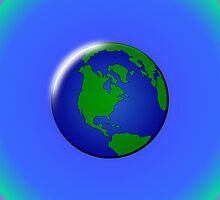 Globe by llamafist