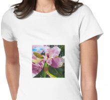 Magnolia vs Peony Womens Fitted T-Shirt