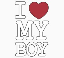 I Love My Boy by daleos