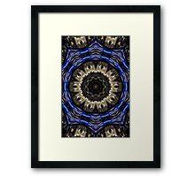 Blue sprocket. Framed Print