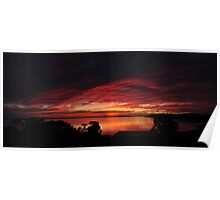 A Coffin Bay sunset Poster