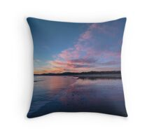 East Beach Low Head at Daybreak Throw Pillow