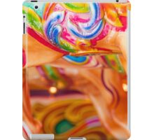 Merry-go-round horse. iPad Case/Skin