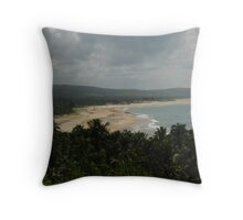 Mozambique Coastline Throw Pillow