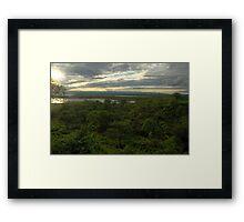 Bumi Hills HDR Framed Print