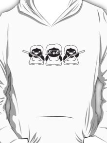 Cool Penguin Girls Gang T-Shirt