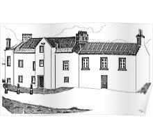 John McDouall Stuart Museum in Dysart, Scotland Poster