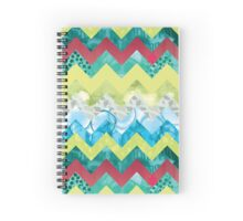 Zingy Chevron Spiral Notebook