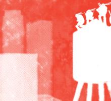 Four Ninjas - RED Sticker