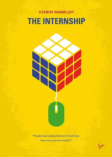 No215 My The Internship minimal movie poster by Chungkong