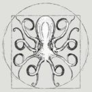 Vintage Octopus by FrederickJay