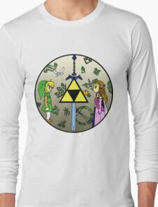 Hyrule Historia Long Sleeve T-Shirt