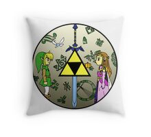 Hyrule Historia Throw Pillow