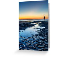 An Evening at the Beach Greeting Card