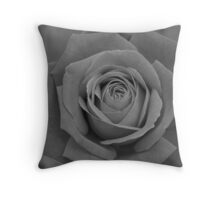 Restful Rose Throw Pillow