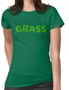 I Love Grass Womens Fitted T-Shirt