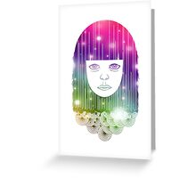 Space Girl Greeting Card