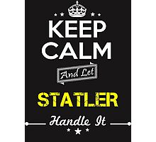 STATLER KEEP CLAM AND LET  HANDLE IT - T Shirt, Hoodie, Hoodies, Year, Birthday Photographic Print