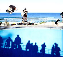 Air – Bondi Beach Skatepark by Paul Ryan