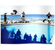 Air – Bondi Beach Skatepark Poster