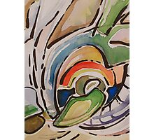 Watercolor abstraction Photographic Print