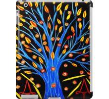 Blue tree/abstract iPad Case/Skin