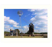 Spocot Mill Art Print