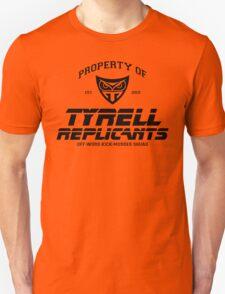 Property of Tyrell Replicants Off-World Kick-Murder Squad Unisex T-Shirt
