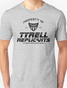 Property of Tyrell Replicants Off-World Kick-Murder Squad T-Shirt