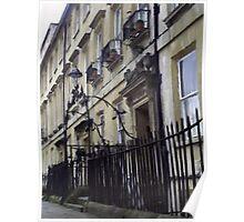 GeorgianTerrace, Bath Poster