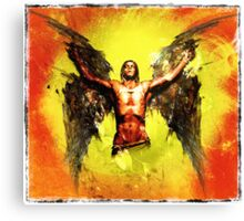 Icarus - The Fall Canvas Print