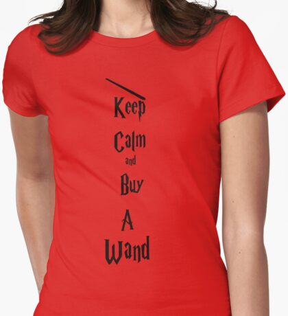 Wand  Womens Fitted T-Shirt