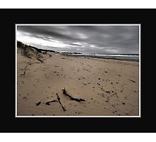 The Dull Seaside Photographic Print
